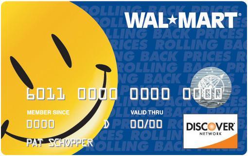 """Walmart Credit Card"""