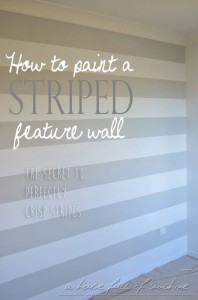 Paint a feature wall