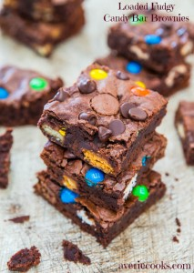Loaded Fudgy Brownie