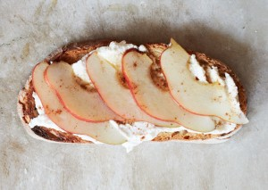 Pear and Ricotta Toast