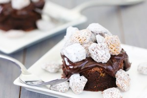 puppy chow brownies