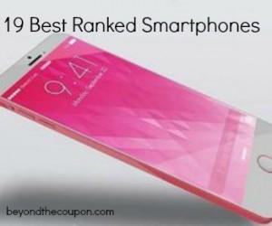 Best ranked smartphones