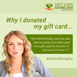 Who started Gift Card Giving Day