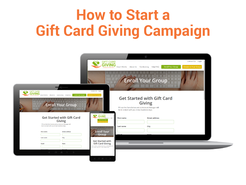 Gift Card Giving Campaign
